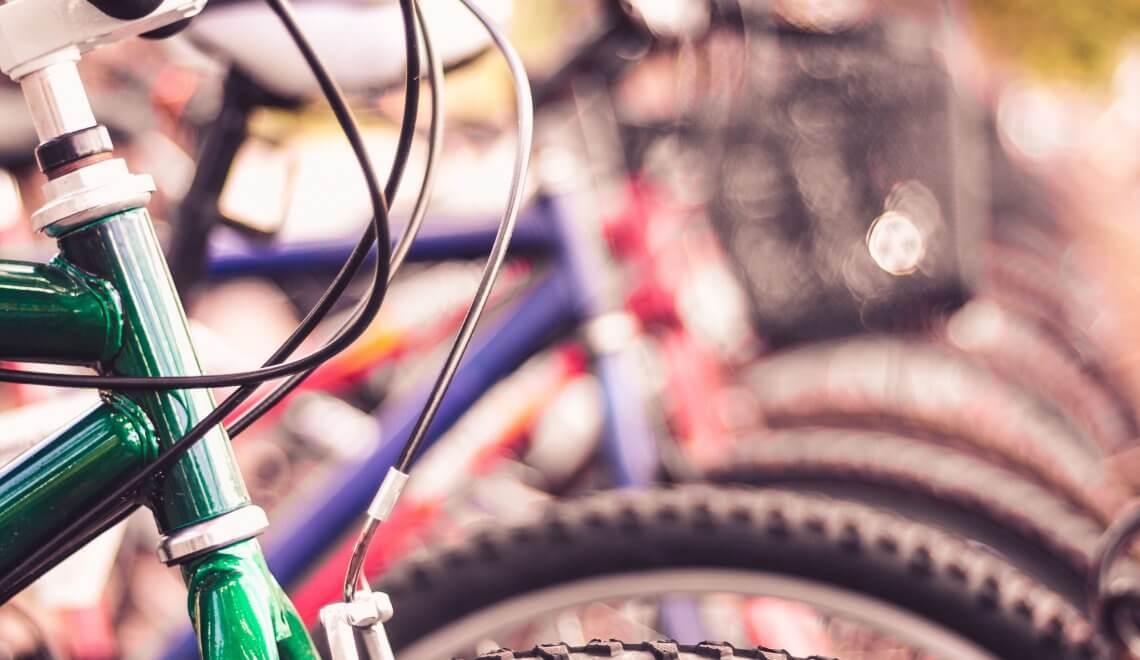 Bicicletário em condomínios