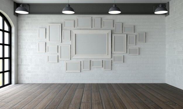 como fazer uma Gallery Wall